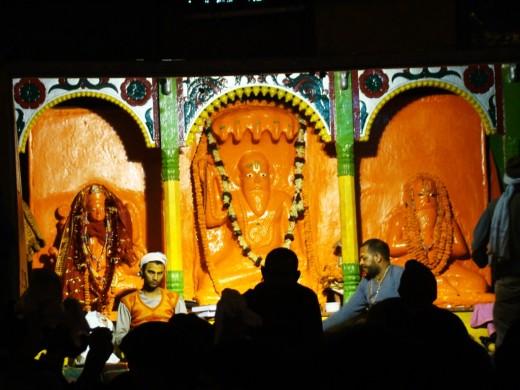 The idol of Kapil muni