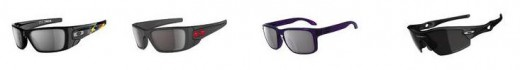 From left to right - Tuca Fuel, Ducati Cell, Holbrook, OO Polarized Cell.