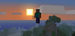 How To Fly In Minecraft   Minecraft Single Player Commands Mod