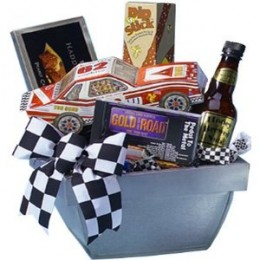 Be the Checkered Flag Winner of Your NASCAR Fans Valentine's Day with this Unique Gift Basket! Just click below to shop Now!