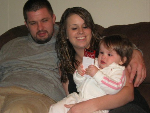Eric with Jessica and Gianna