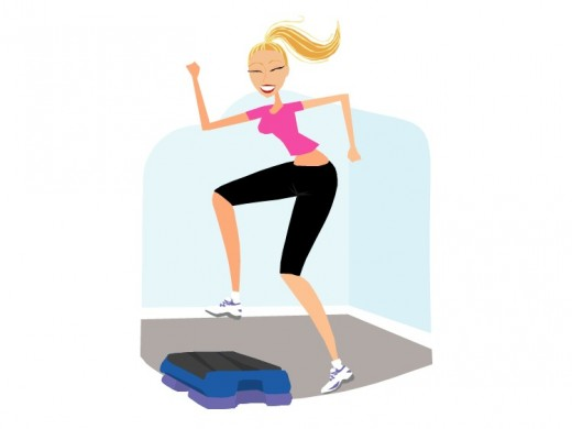 Keep yourself fit and trim ...exercise!!