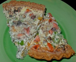 Step 52 - Compare the two types of Quiche Crusts