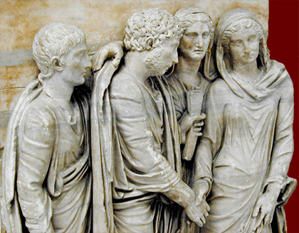 Marriage of Sabines and Romans
