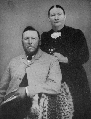 Jacobus and Catharina Smuts, 1893. Image Wikipedia