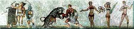 Ludi Romani or Roman Games in ancient Rome