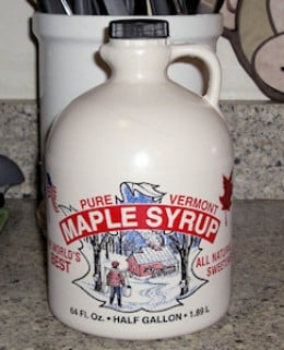 Great tasting pure Vermont maple syrup!