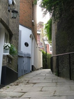 Hampstead back streets