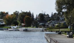 Air and water add additional means of access to Notre-Dame-du-Nord