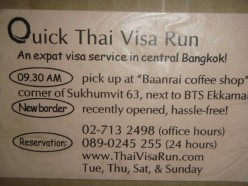 Visa Renewal in Thailand--Travel Thailand Series
