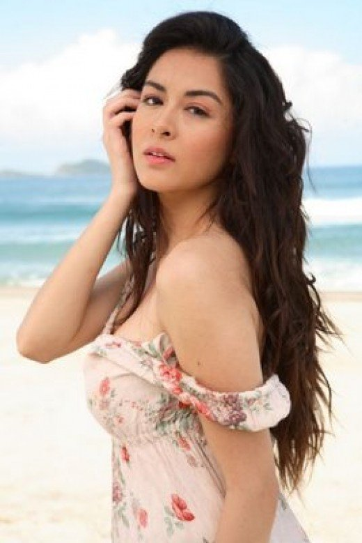 Sexy Marian Rivera as the Filipina Marimar