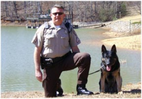 Dep Chase Johns and Risso  K-9