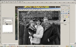 Duplicate the image, then desaturate the duplicate.