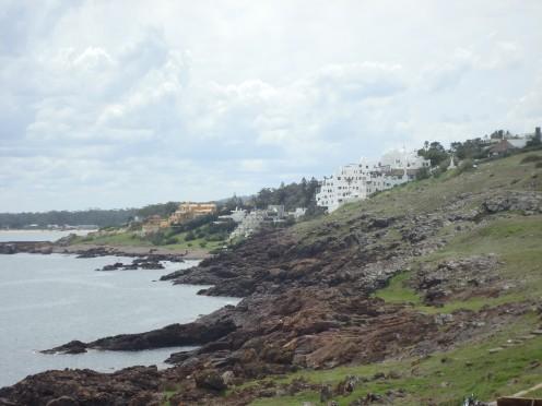 Rocky Punta Ballena and the Casapueblo museum