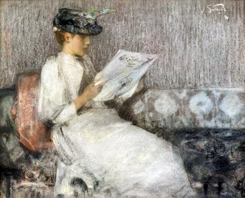 James Guthrie's,  The Morning Paper