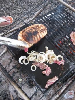 Making a hamburger