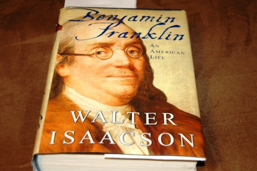 Slow day at work equals a perfect opportunity to read.  I started working on a Benjamin Franklin biography I picked up at McKay's yesterday for a steal.