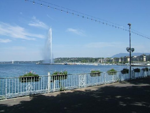 Had a stoll by the Lake in Geneva