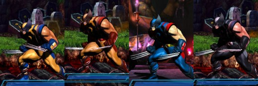 Ryu and Wolverine's fashions have stood the test of time