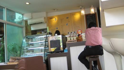 My favorite cafe in Bangkok with free Wi-Fi Internet.