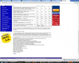 Ryanair table of fees Page 2