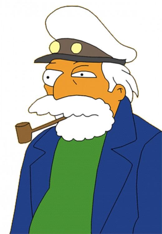The Sea Captain runs All-U-Can-Eat fish restaurant The Frying Dutchman!