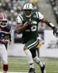 New York Jets' Brad Smith runs the ball during the first quarter of the NFL football game between the Buffalo Bills and the New York Jets at New Meadowlands Stadium, Sunday, Jan. 2, 2011, in East Rutherford, N.J. (AP Photo/Kathy Willens)