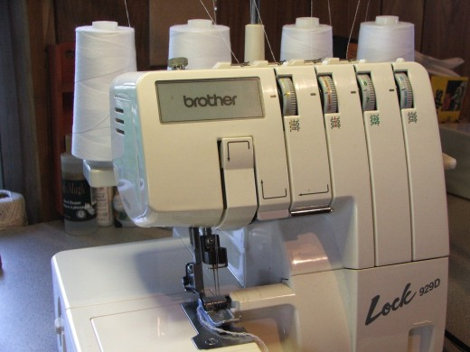 Sergers create an overlock stitch.