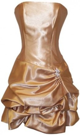 Buy A Satin Strapless Dress