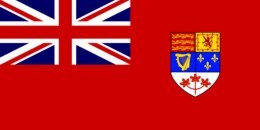 The Red Ensign - Canada's first flag