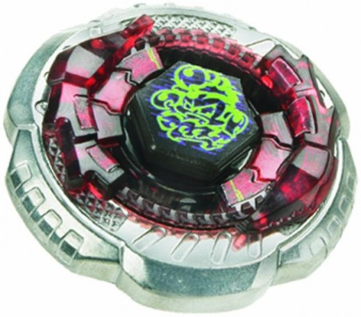 Metal Beyblade: Rock Scorpio T125ES