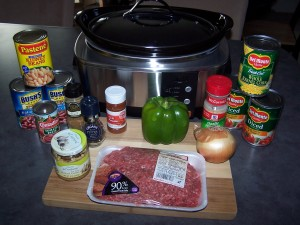 Here's a great crock pot chili recipe for everyone.