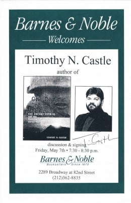 Timothy N. Castle is a former TIME magazine writer, war veteran and still writes for Reuters from its London bureau. His book is about when the U.S. during the Vietnam war operated a top-secret radar system in Laos.