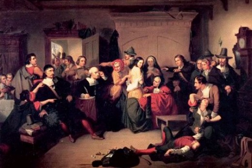 Examination of a Witch in Salem