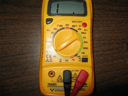 How Do You Read Ohmmeter : How to use ohm meter or multi tester check resistance