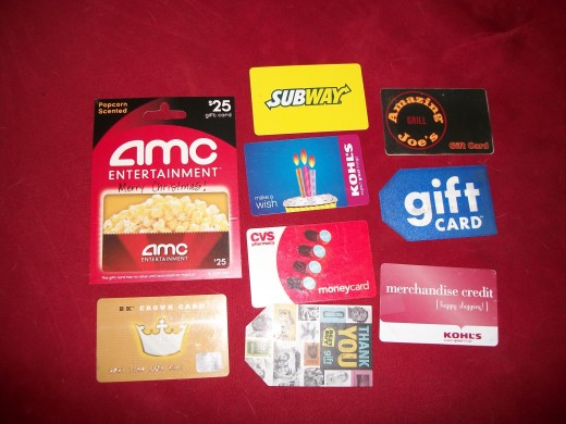 Gift cards can be used as gifts themselves, or you can use them to buy gifts.