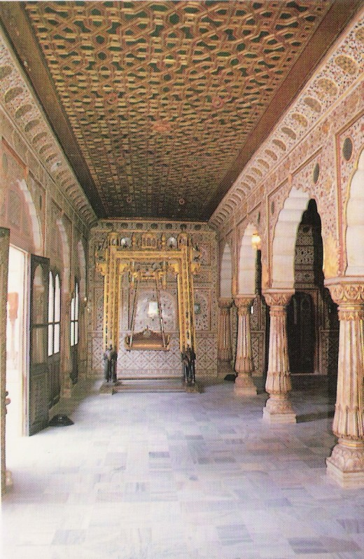 GAJ MANDIR- ANOTHE PART OF PALACE, FORT, BIKANER