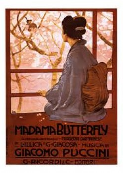 The sad tragedy in the opera Madame Butterfly. The story of how her love was betrayed. With a beautiful aria.