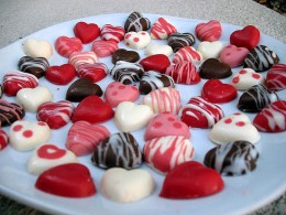 Valentine's Day chocolates/candy