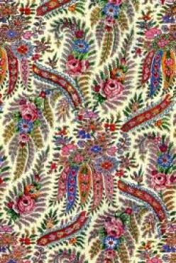 Kashmir Shawl Fabric