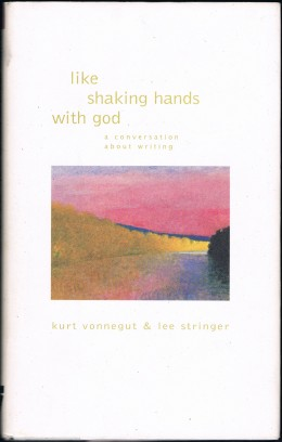 The audio from their discussion (captured for replay on Book TV) was turned into a book titled, like shaking hands with god. Shown is the cover of the book I bought once it came out.
