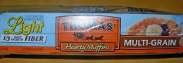 Ingredient - Thomas' Hearty Muffins Multi-Grain Light