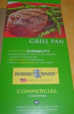 Equipment - Nordic Ware Grill Pan