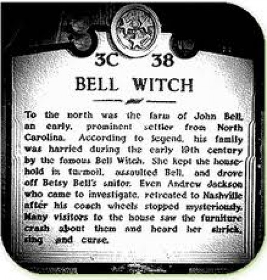 Historial Landmark of the Bell Witch