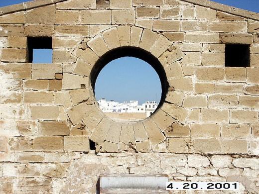 View to Essaouira from Skala de la Ville
