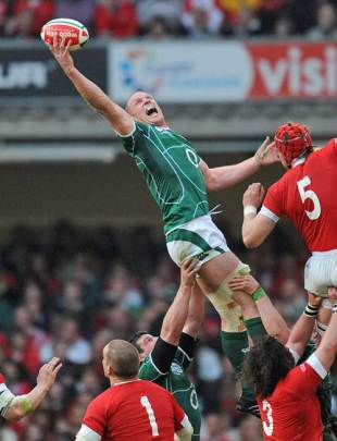 Paul O'Connell, one of the best exponents of the rugby lineout