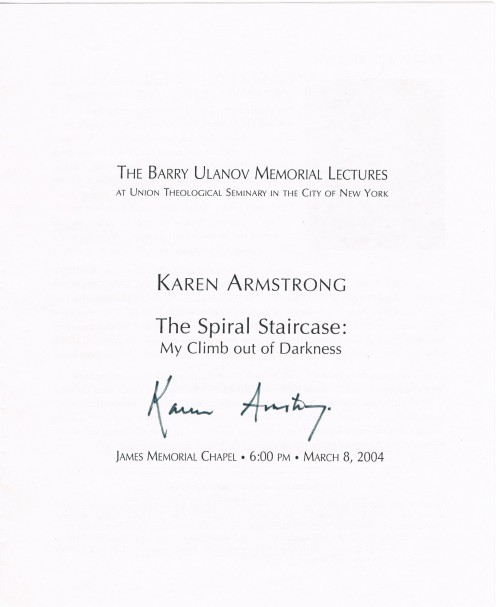 Karen Armstrong is one of the foremost commentators on religious affairs, penning books about what Islam, Judaism and Christianity have in common. She first rose to prominence in 1993 with her highly successful book, A History of God.