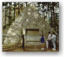 Buchanan Birthplace Monument, Cove Gap (near Mercersburg), Pennsylvania