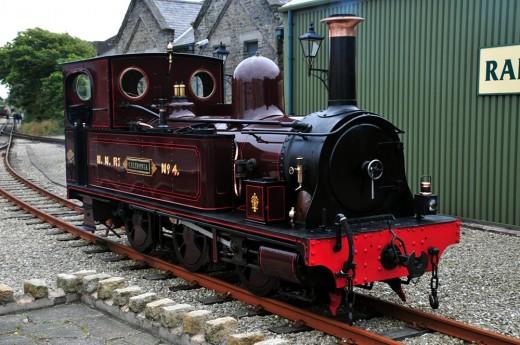 MNR 'Caledonia' at Port Erin -  David Lloyd-Jones 2010