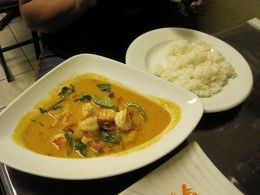 Thai Yellow Curry with Shrimp